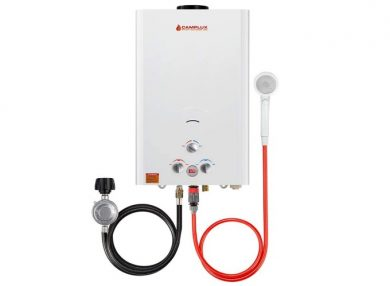 Complex 16L Outdoor 4.22 GPM – Digital Display Propane Gas Tankless Water