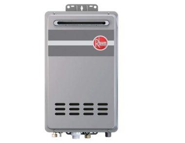 Rheem RTG-95XLN Outdoor Tankless Natural Gas Water Heater