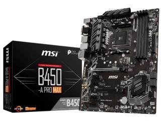 MSI B450 ProSeriesAMD Ryzen 5