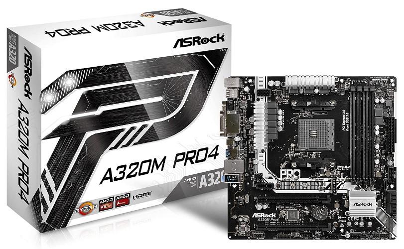 ASRock A320 motherboard