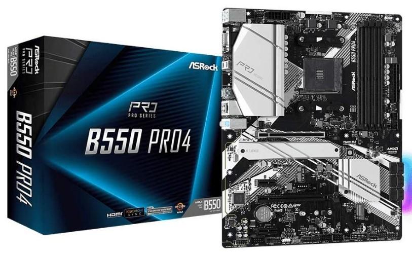 ASRock B550 Pro 4 Motherboard