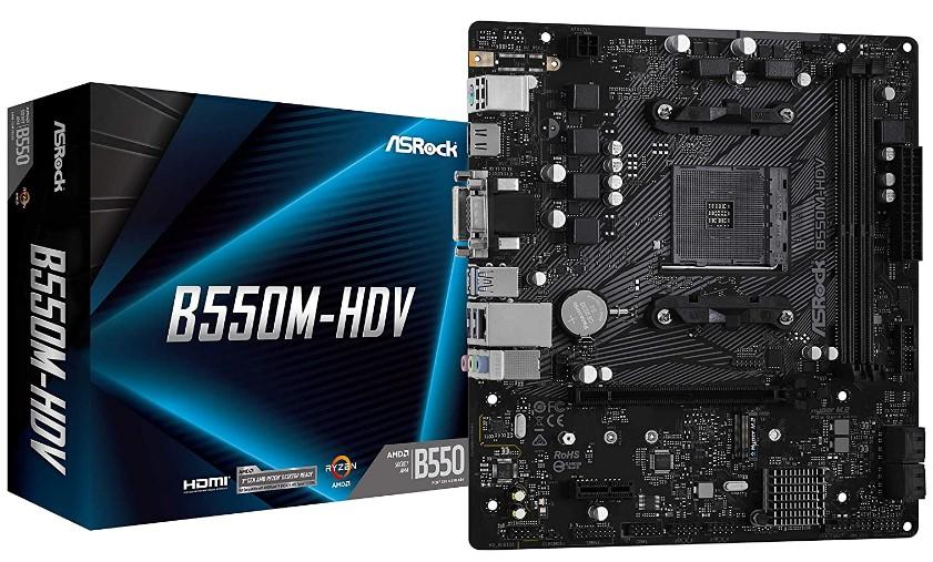ASRock B550M-HDV Motherboard