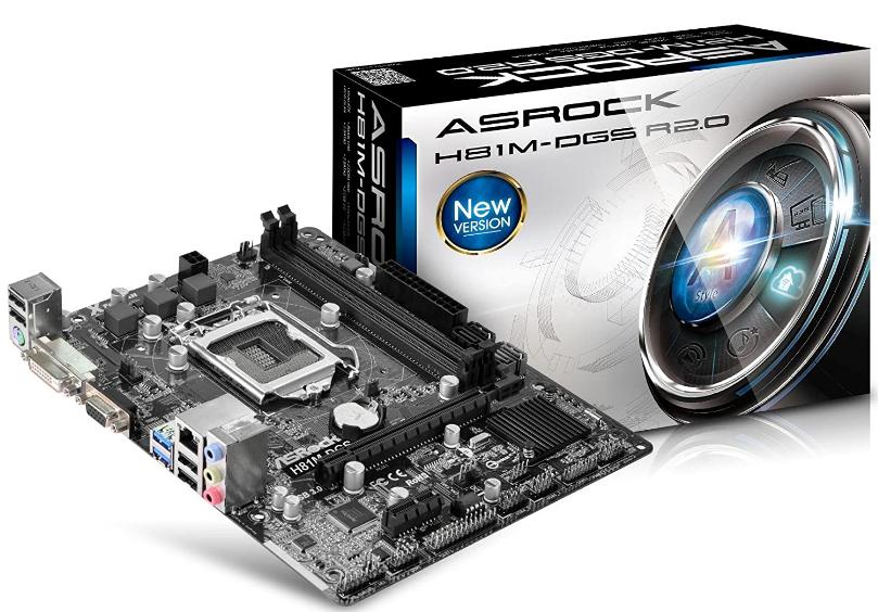 ASRock Motherboard Micro ATX
