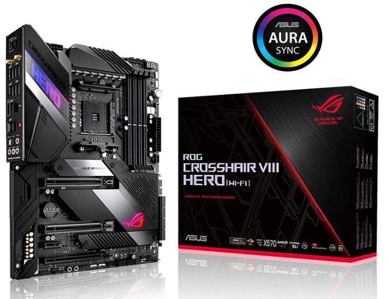 Asus ROG X 570 Crosshair VIII Hero Motherboard