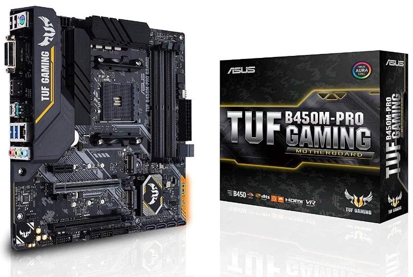 Asus TUF B450M- Pro Gaming Motherboard