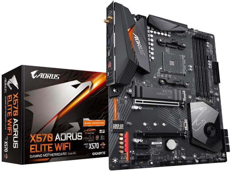Gigabyte X570 Elite WIFI Motherboard