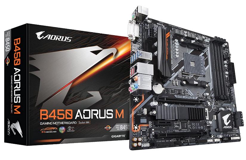 Gigabyte B450 AMD Motherboard
