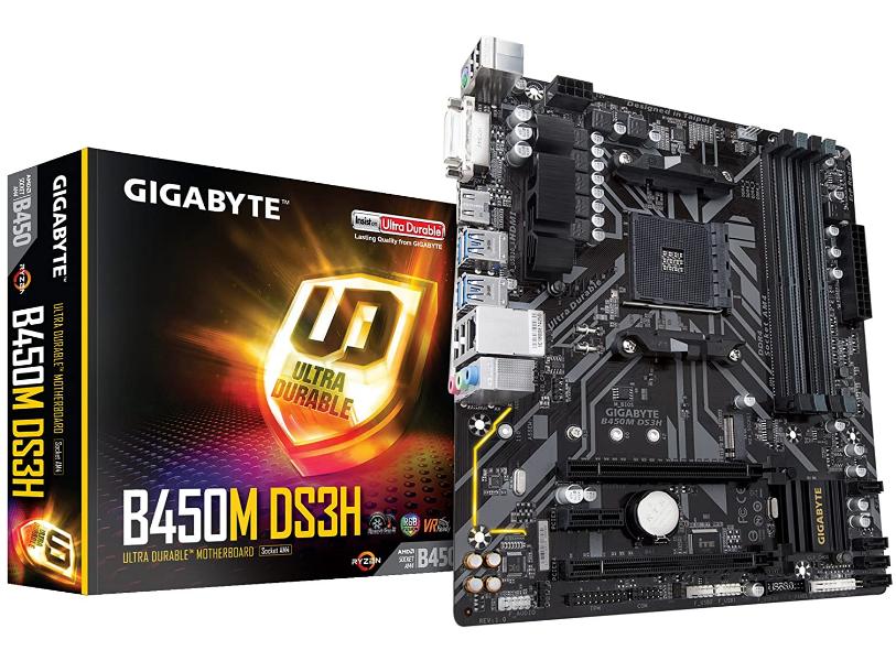 Gigabyte B450M Motherboard