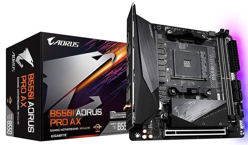Gigabyte B550I-AORUS Pro AX