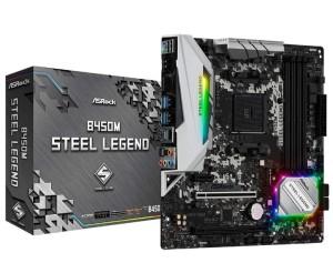 Legend of ASRock B450M steel