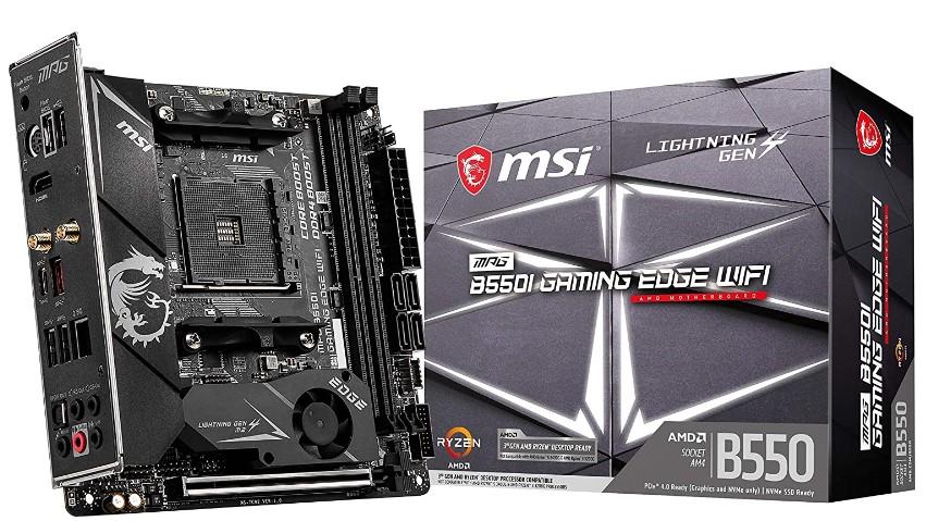 MSI MPG B550I