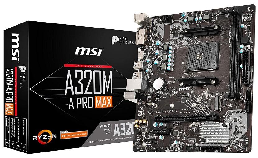 MSI Pro Series AMD 320 motherboard