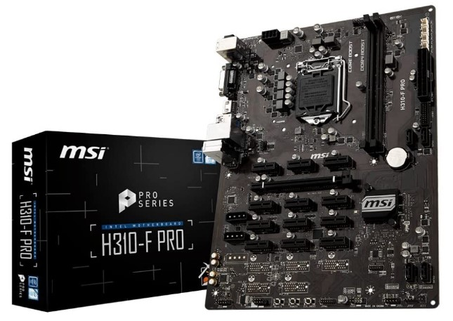 MSI Pro Series Intel Motherboard