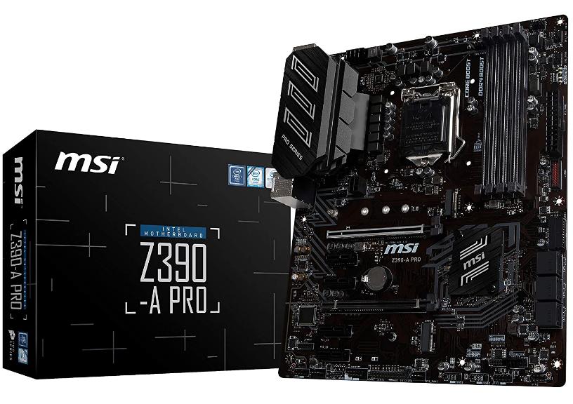 MSI Z390 Motherboard