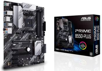 Asus Prime B550-Plus AMD  AM4 Ryzen 5000 Motherboard