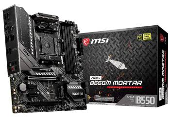 MSI MAG B550M Mortar Gaming Motherboard