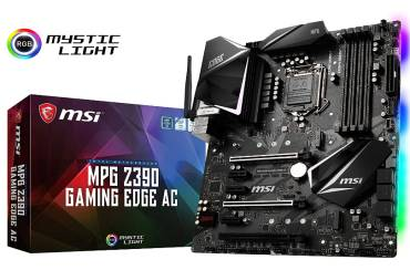 MSI MPG Z390 Gaming motherboard