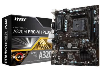 MSI Pro Series AMD Ryzen A320 Motherboard
