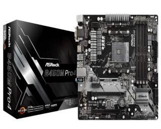 ASRock B450M Pro4 AM4 motherboard