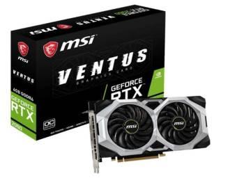 MSI Gaming RTX 2060 Ventus 6 GB