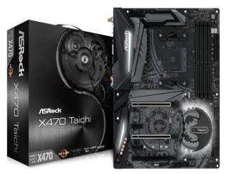 ASROCK AMD X470 chipset ATX motherboard