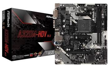 ASRock B450-M HDV R4.0 Motherboard