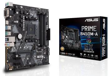 Asus Prime B450M-A/CSM Motherboard