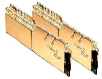 G.Skill 16GB DDR4 Trident Z Royal Gold
