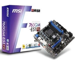 MSI 760GM-E51 FX