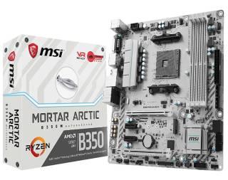 MSI B350 Arctic Tomahawk