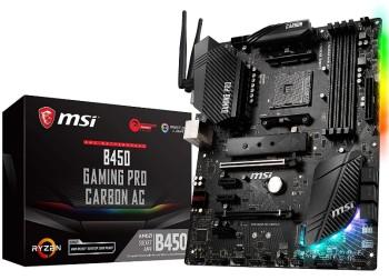 MSI B450 Gaming Pro Carbon AC Motherboard
