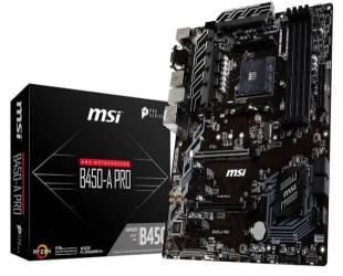 MSI ProSeries B450-A PRO