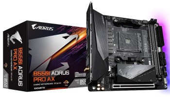 Gigabyte B550-I AORUS Pro AX Motherboard