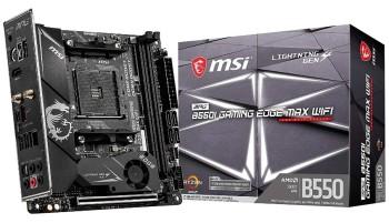 MSI B550-I Gaming Edge MAX WIFI Motherboard